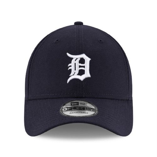 NEW ERA MENS 9FORTY BASEBALL CAP.MLB THE LEAGUE DETROIT TIGERS NAVY HAT 8W2 24